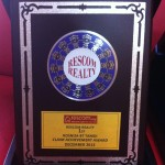 Rosniza was awarded Top Agent 2013